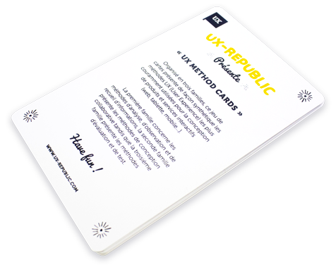 UX method cards