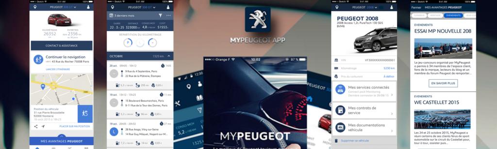 Peugeot permet d'être connecté à son véhicule en temps réel