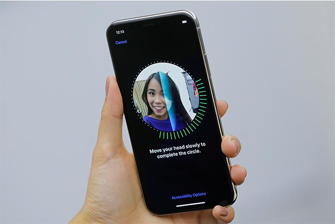 Utilisation de Face ID sur IPhone X
